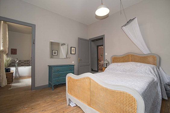 Gite Master Bedroom